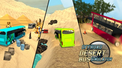 Offroad Desert Bus Simulator screenshot one