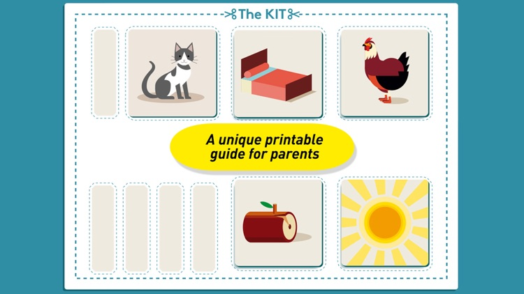 Montessori Early Reading - Phonics & Rhyme games screenshot-4