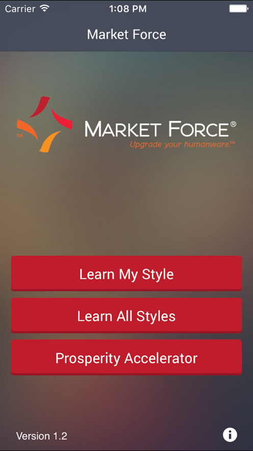 Market Force App 截图