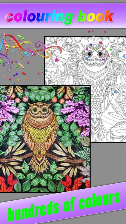 Coloring Book - Color Therapy Pages & Stress Relief Coloring Book for both Kids and Adults screenshot-3