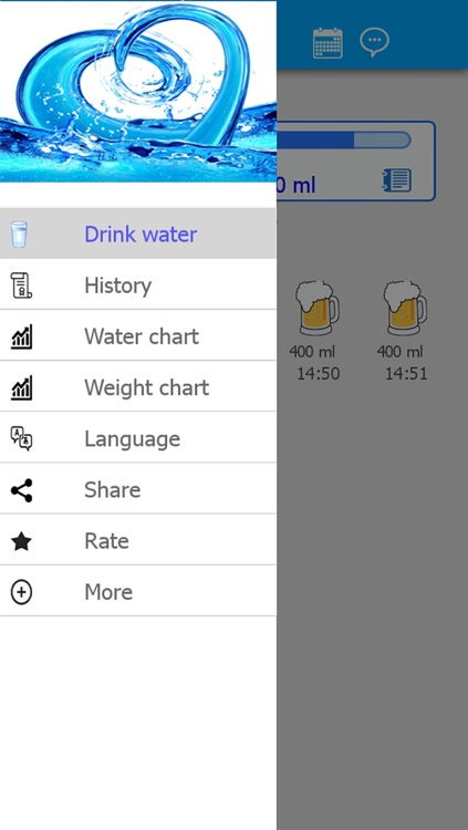 Water Drink Tracker (H2O) screenshot-0