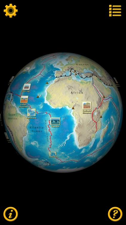 Plate Tectonics Visual Glossary and Atlas screenshot-0