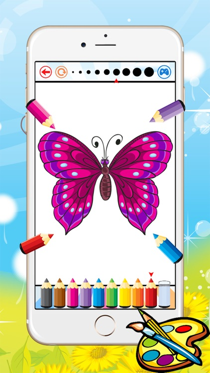 Animal Coloring Book - Drawing for kid free game, Paint and color ...