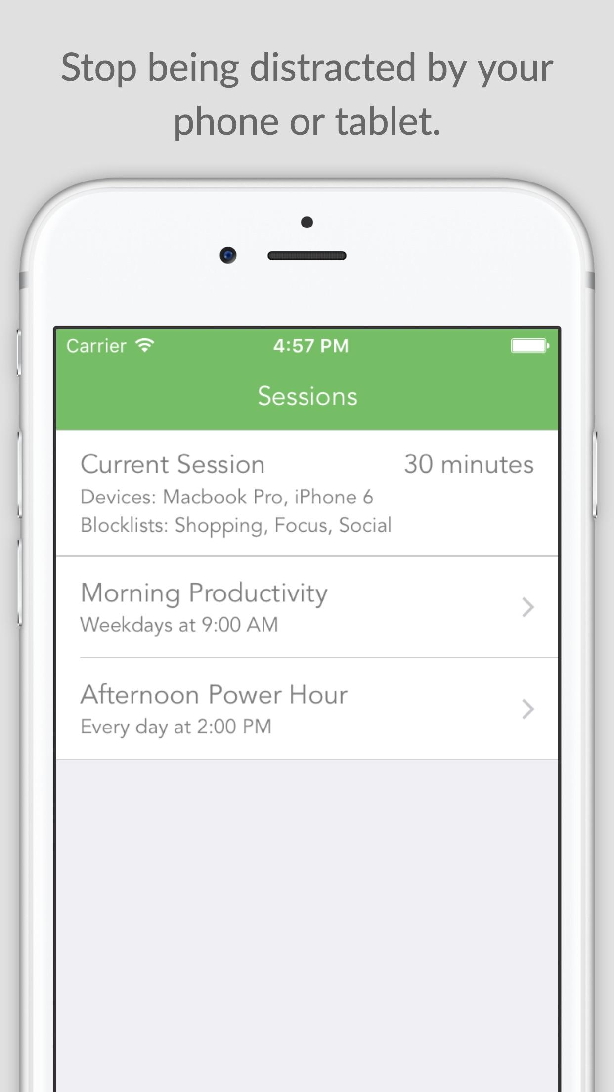 Freedom - Reduce Distractions Screenshot