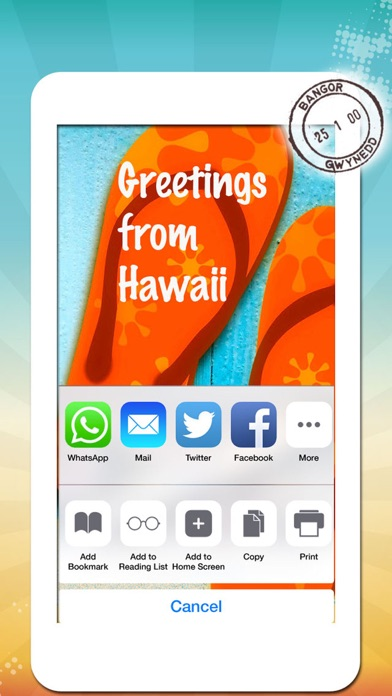 Vacation greeting cards summer holiday greetings wallpapers screenshot 8 for vacation greeting cards summer holiday greetings wallpapers messages m4hsunfo