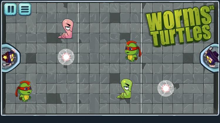 Worms vs Turtles screenshot-4