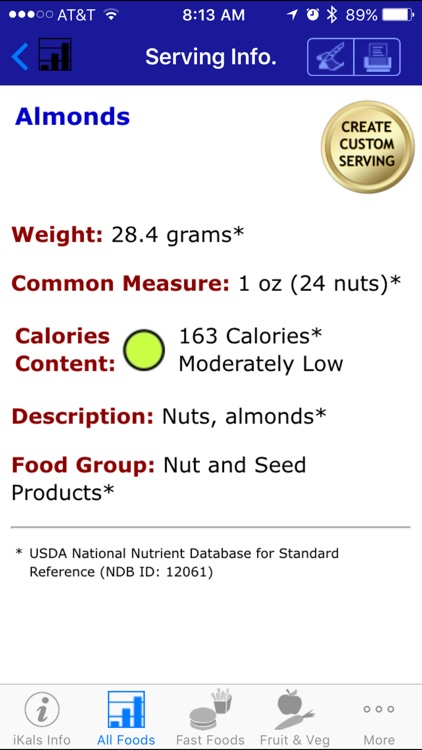 iKals - iNutrient: Calories screenshot-3