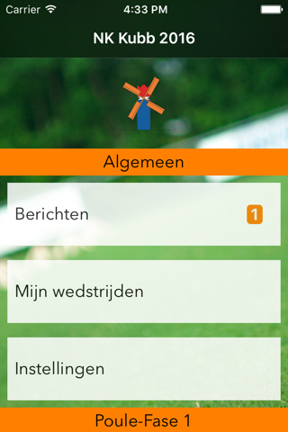 NK Kubb App - náhled