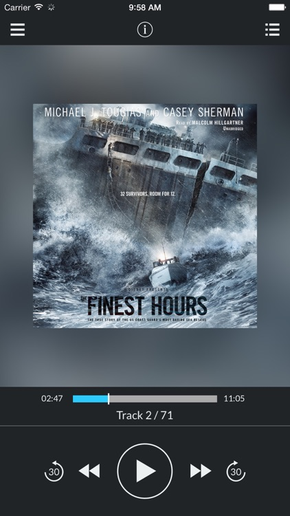 The Finest Hours: The True Story of the US Coast Guard's Most Daring Sea Rescue (by Michael J. Tougias and Casey Sherman) (UNABRIDGED AUDIOBOOK)
