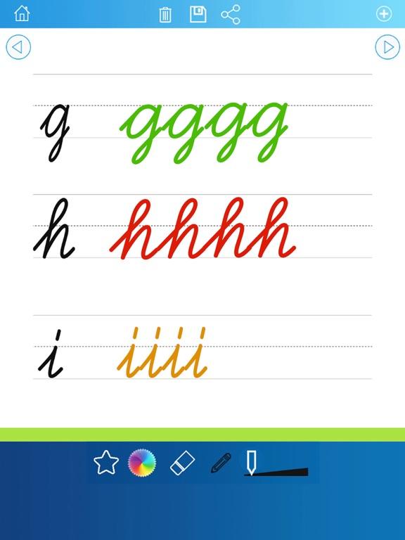 Игра почерк рабочие листы 123 ABC обучающие игры для детей: научиться писать буквы алфавита в сценарии и прописью