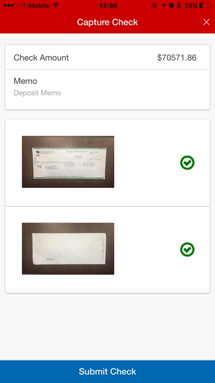 KeyNavigator Mobile Deposit screenshot-1