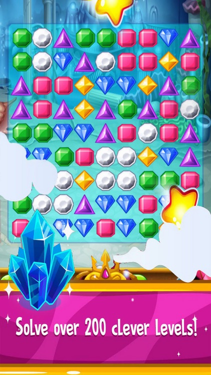 Jewels Deluxe Mania: Match Free