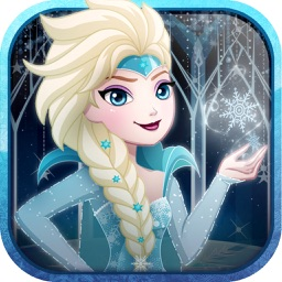 """"""" Snow fall princess High-land """" Dress-up : The Ever queen sister after fever games"""