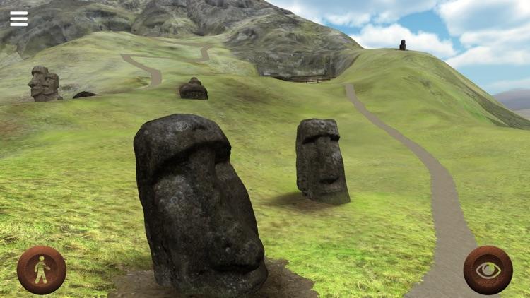 Rapanui 3D: outside Rano Raraku crater in Easter Island to explore the Moais screenshot-3