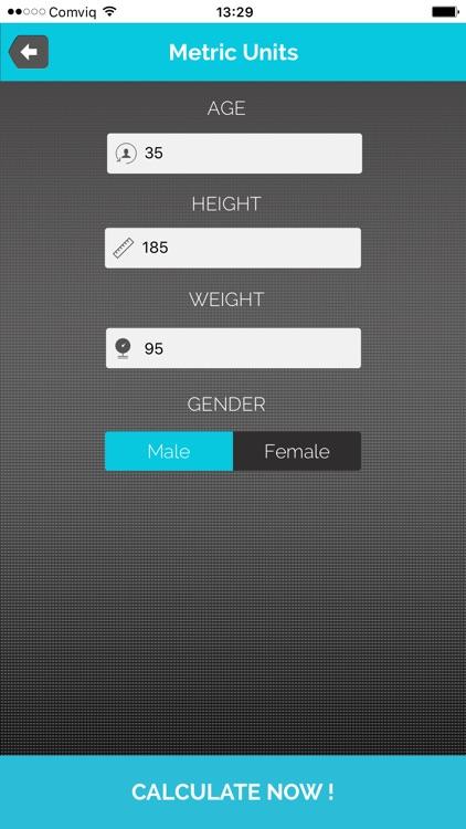 BMI body mass calculator