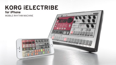 Screenshot #1 pour KORG iELECTRIBE for iPhone