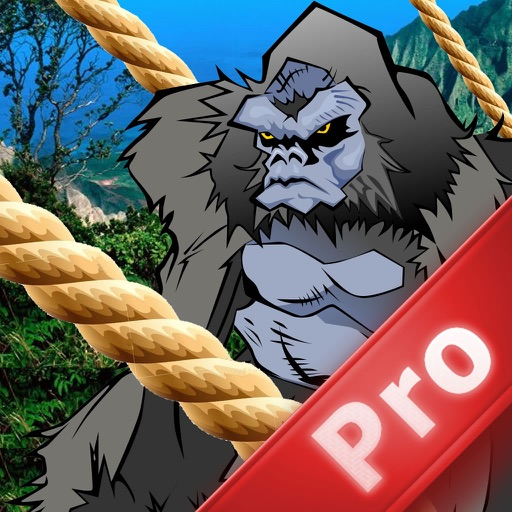 A Gorilla King PRO - Run, Jump and Fly Adventure
