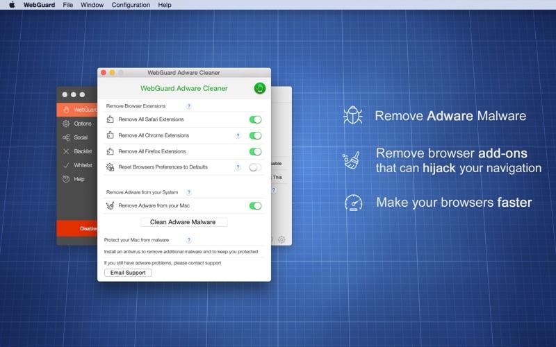 Screenshot #2 for WebGuard - AdBlocker & malicious popups protection