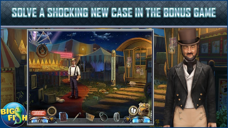 Dead Reckoning: The Crescent Case - A Mystery Hidden Object Game (Full) screenshot-3