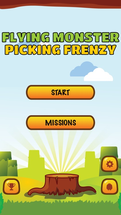 Flying Monster: Picking Frenzy