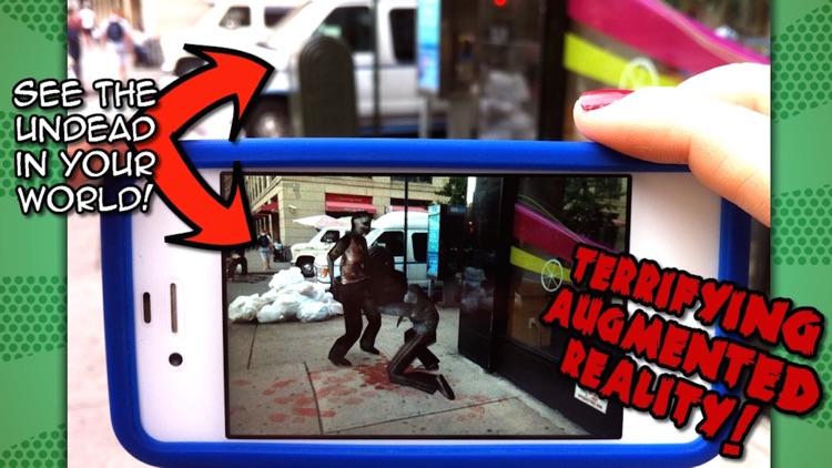Zombies Everywhere! Augmented Reality Apocalypse (Halloween Edition) screenshot-3