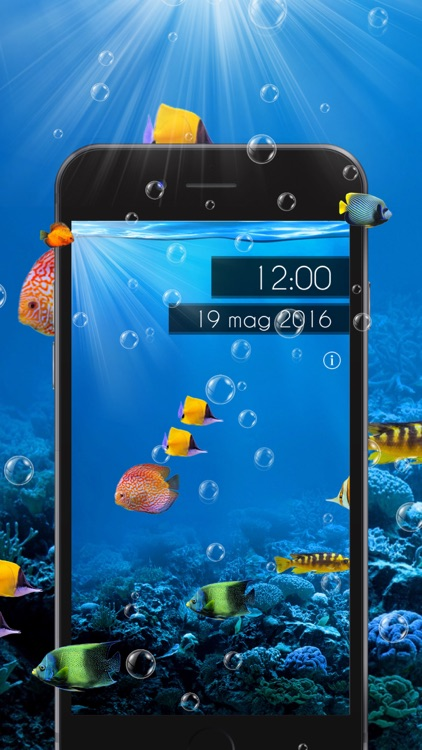 Amazing Aquarium Clock 2 LITE screenshot-3