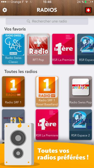 Swiss Radio - all Radios in Switzerland Schweiz FR