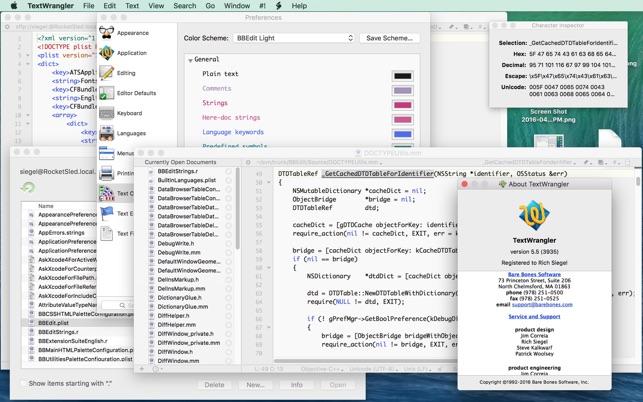 OS X TÉLÉCHARGER TEXTWRANGLER MAC