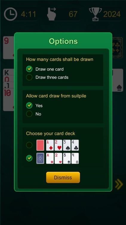 Solitaire: Original solitaire card game screenshot-3