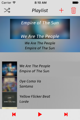 Personal djay - mood playlists screenshot 4