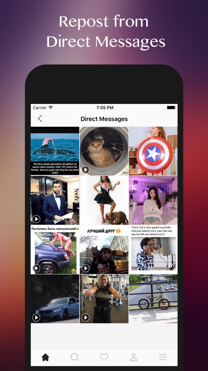 InstaSave for Instagram - Repost Videos & Photos from Instagram Free