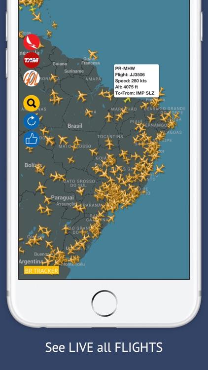 BR Tracker Free : Live Flight Tracking & Status