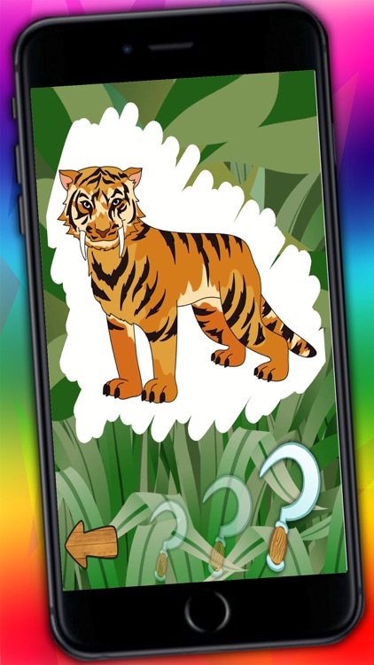 Connect dots and paint zoo animals – jungle coloring book for kids