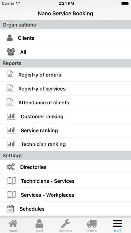 Nano Service Booking screenshot-4