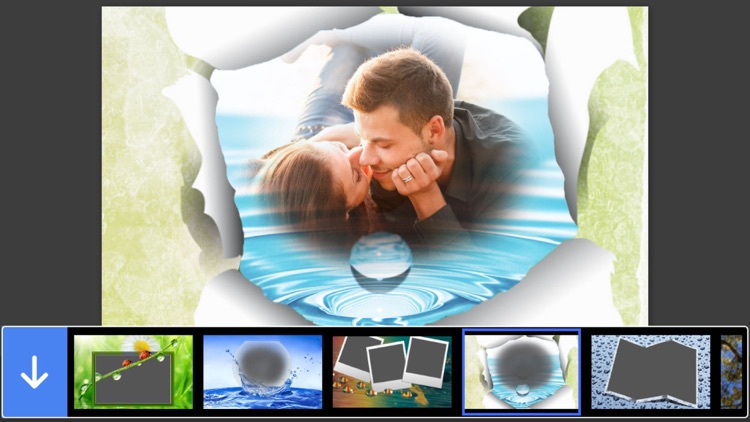 Water Photo Frame - Creative and Effective Frames for your photo