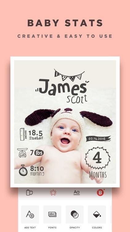 Baby Story - Pregnancy Pics Baby Milestones Photo screenshot-3
