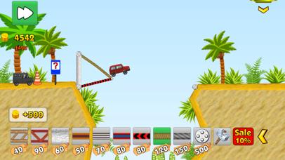 Railway bridge 2 - Bridge construction simulator screenshot two