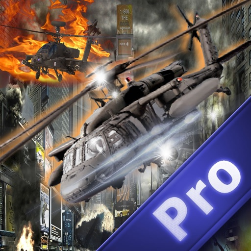 A Gunship Helicopter Pro - Simulator Copter Game