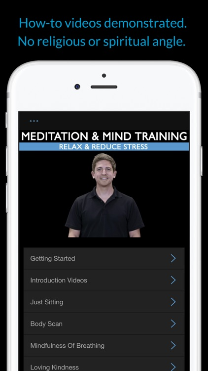 Meditation & Mind Training: Relax & Reduce Stress