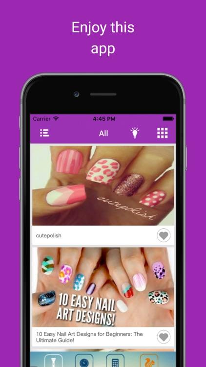 Nail art tutorial idea videos: Women beauty lesson screenshot-4