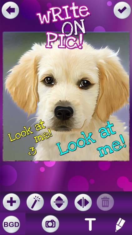 Write on Pics Free Photo Studio Editor – Add Text and Caption.s over your Favorite Picture.s screenshot-3
