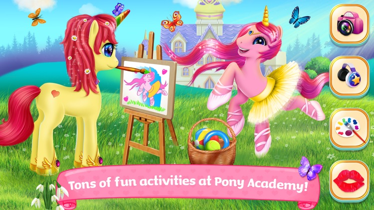 Pony Horse Princess Academy screenshot-4