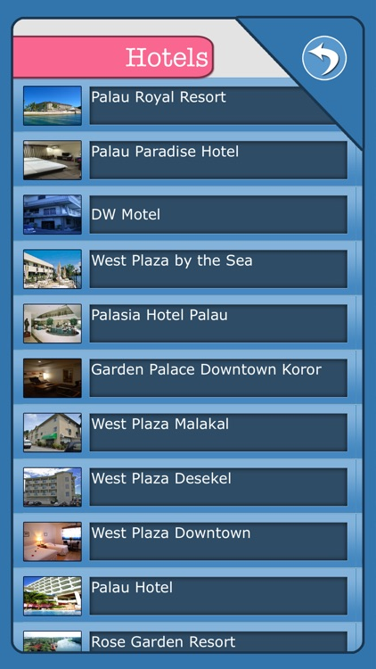 Palau Island Offline Map Tourism Guide screenshot-3