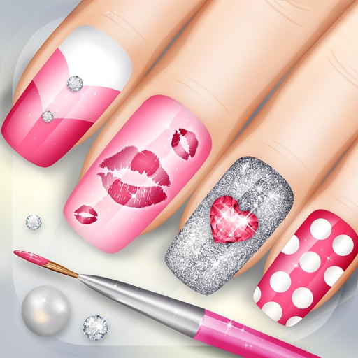 Nail Girl Games: Fashion Nails 3D Girls Game: Create Awesome Manicure