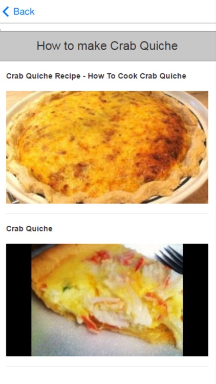 Crab Recipes - Learn How to Cook Crab screenshot-3