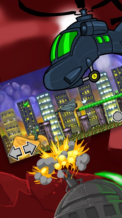 Army Strike Combat War - Attack Soldier Shooters Free Games screenshot-3