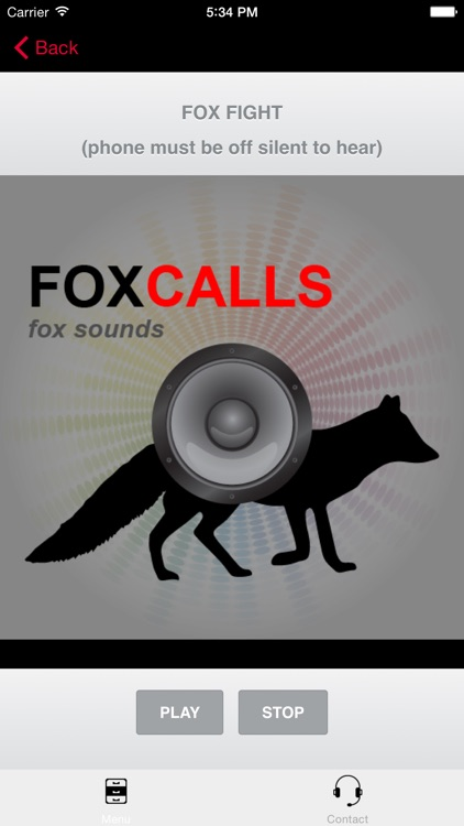 REAL Fox Sounds and Fox Calls for Fox Hunting (ad free) BLUETOOTH COMPATIBLE screenshot-3