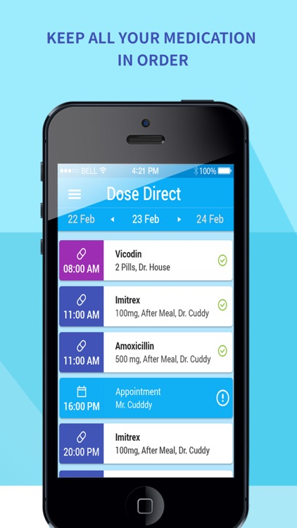 Dose Direct: medication, pill reminder and manager