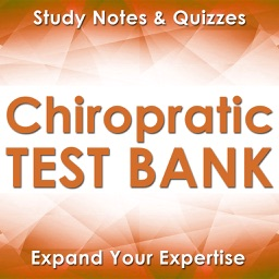 Chiropractic Course Review & Test Bank : 1900 Cards & Quizzes
