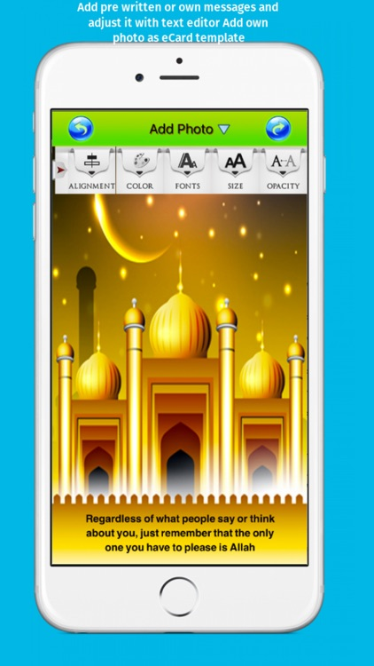Best Islamic Greeting Cards Maker - Create and Send Islamic eCards with Blessings screenshot-3